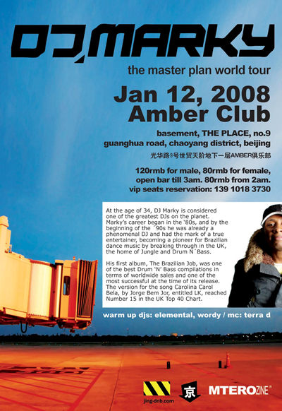 DJ Marky at Amber Club, January 12th 2008